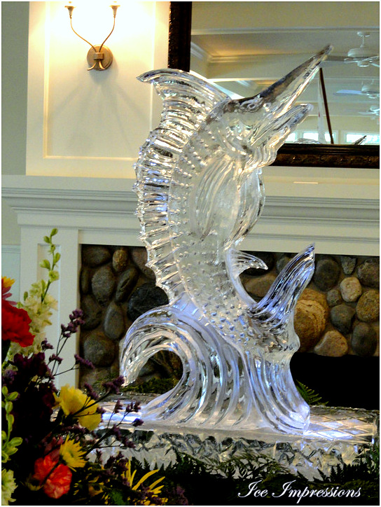 Ice Impressions Ice Sculptures, ice-impressions.com, ice sculptures, ice sculpture, ice carving, ice carvings, special event ice sculpture, Michigan ice, Golf, Golf event ice sculpture, golf club ice sculpture, Golf & Country Club Ice Sculpture, northern Michigan ice sculpture.