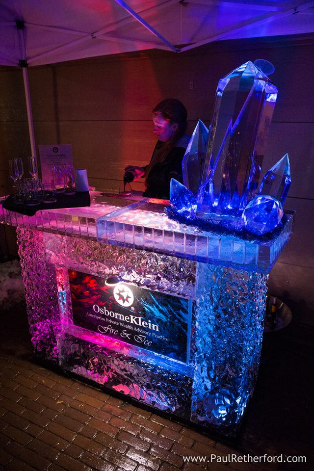 By Ice Impressions, ice-impressions.com, Ice Impressions, ice impressions ice sculptures, ice impressions ice carvings, Michigan ice sculpture, ice sculptures, ice bar, ice bars, ice luges, fire and ice bar, fire and ice ice sculptures, fire and ice.